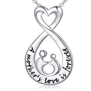 Jewelry - Sterling Silver Open Teardrop A mother's Love